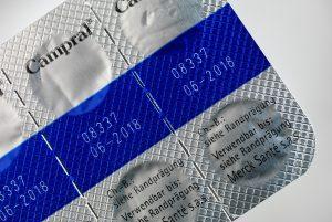 Codificación láser sobre blister farmacéutico