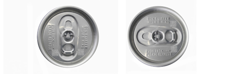 Pulsed fiber laser for marking on aluminum cans