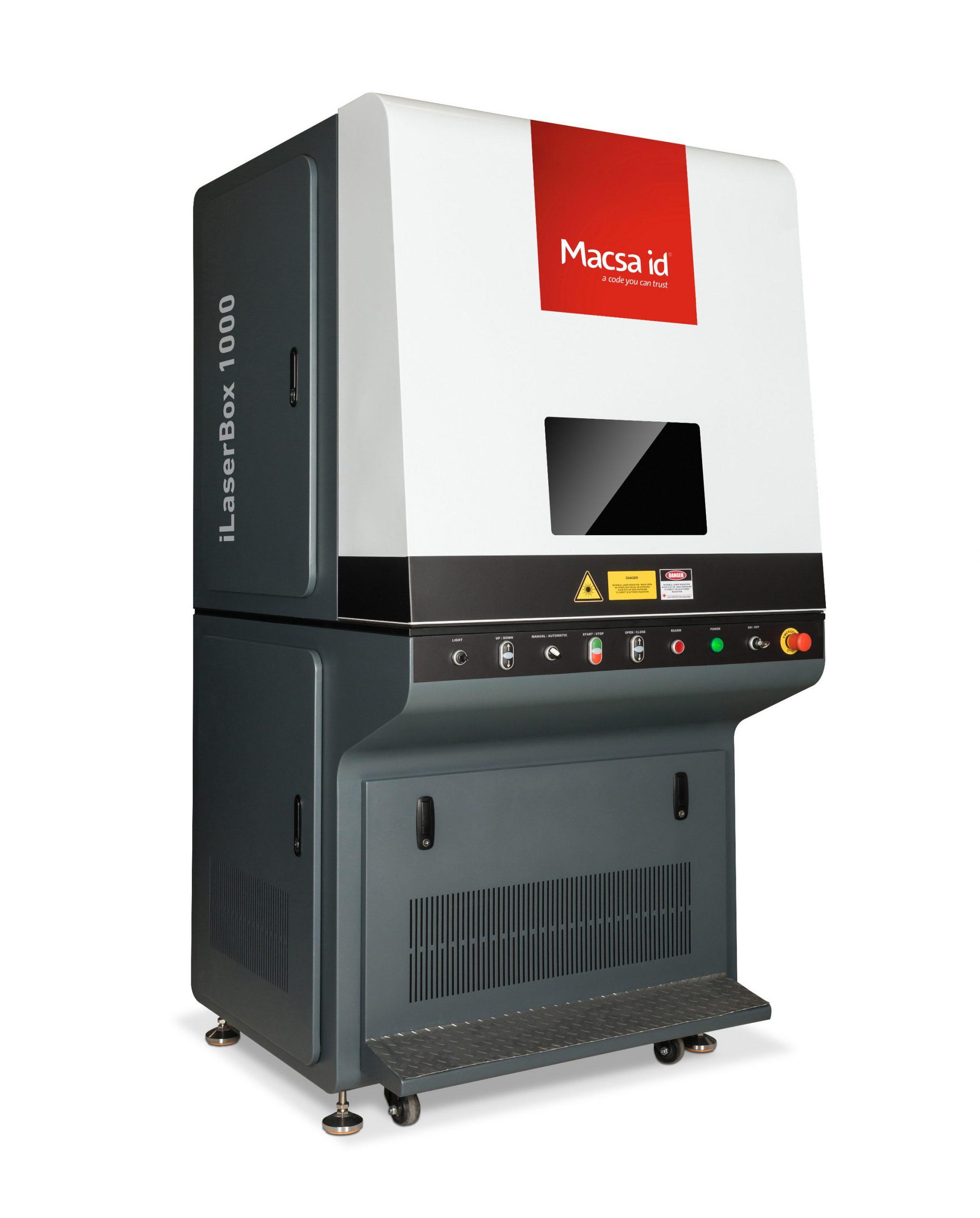 Marcaje industrial láser estático de alto rendimiento