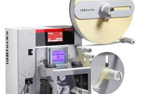 The contactless, high speed label applicator system