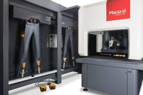 Side-shift mannequin system for textile marking
