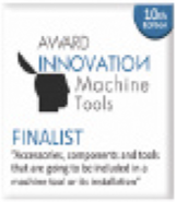 10th Edition Innovative Award Machine-Tool Finalist.