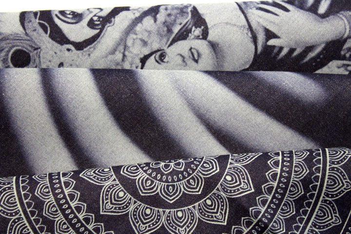 Marking on Denim Fabric