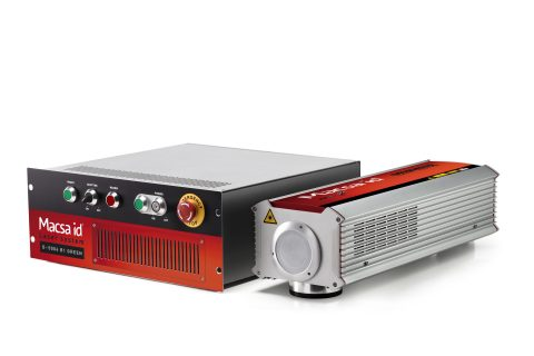 Air cooled, short pulse, high power laser