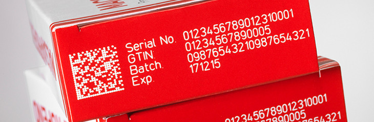 Codificación láser de mensajes complejos sobre envases de cartón