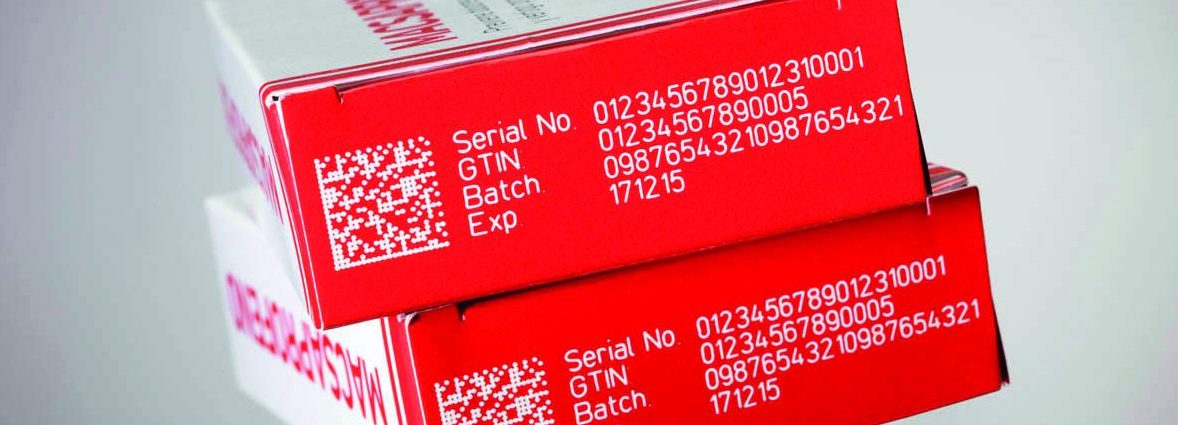Complex message laser coding on cardboard packaging