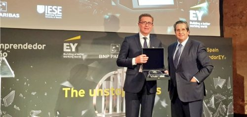 Jordi Piñot, President and CEO of Macsa ID, Catalonia finalist for the EY Entrepreneur of the Year Award