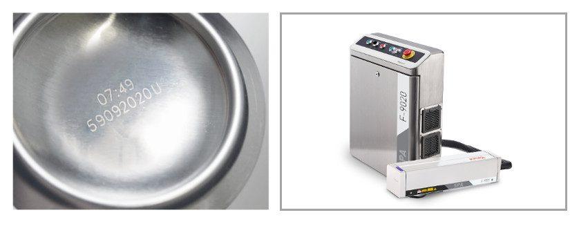 Codificación láser latas bebidas