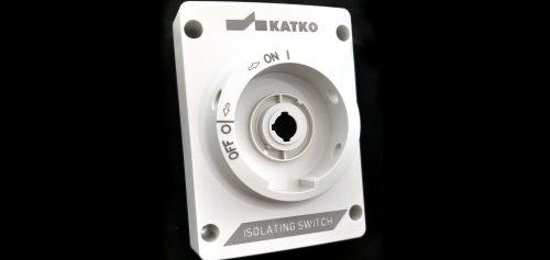 Marcado láser en dos alturas sobre interruptor plástico
