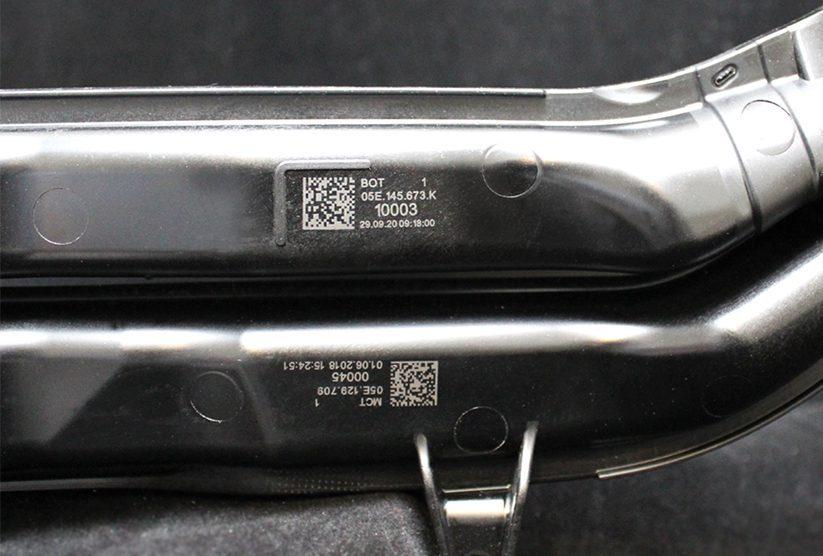 marcaje láser datamatrix