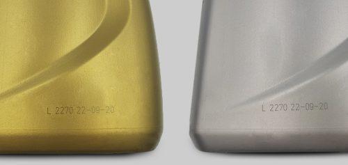 Marcaje láser en plástico HDPE